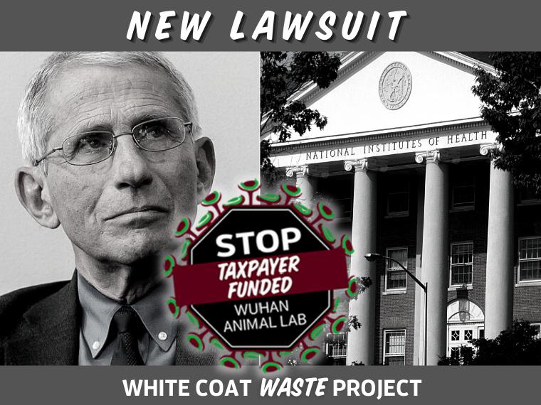 New Lawsuit: WCW sues NIH